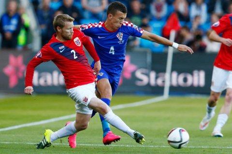 FORNØYD: Tom Høgli er fornøyd med at Norge møter Ungarn, men vil ikke snakke om drømmetrekning i play off-kampene for å nå EM-sluttspillet i fotball neste sommer.
