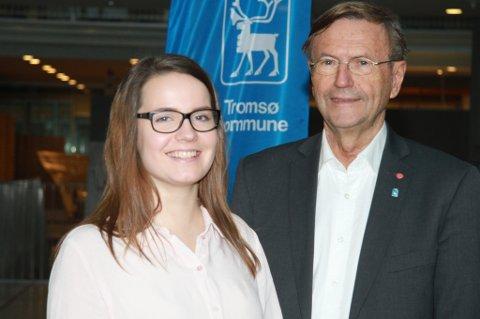 POLITISK RÅDGIVER: Katarina Goldfain Johnsen blir ordfører Jarle Aarbakkes politiske rådgiver.