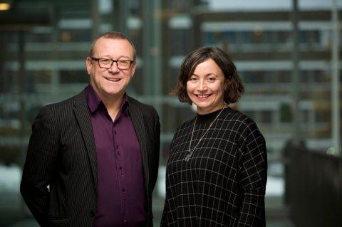 Stein S. Fredriksen og Ellen Zahl Jonassen