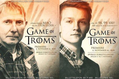 REVY: Games of Troms heter årets revy på Grønnpsen skole. Foto: Skjermdump Tromsøpalmen