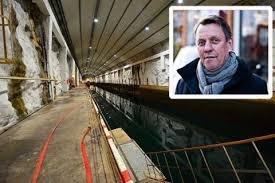 MULIG MOTTAK: Den tidligere marinebasen Olavsvern kan bli midlertidig mottak. I forrige uke ble hovedeier Gunnar Wilhelmsen forespurt om det er mulig å etablere et midlertidig mottak der.