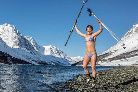 ELSKER LØPING: Emelie  Forsberg kan ikke tenke seg et livuten løping. Foto: Privat