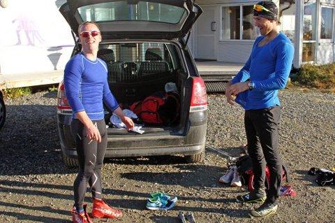 REISEVILLIG: Snoori Einarsson (t.v) og Andreas Nygaard (t.h) er forberedt på å lange reiser for å gå NM på hjemmebane.