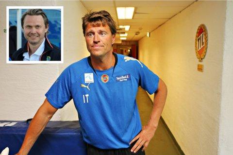 Inge Takøy og Bjørn Johansen (innfelt) kan bli en del av Bård Floviks trenerteam på Alfheim.