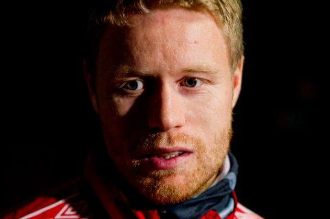 TILBAKE: Tom Høgli spilte 90 minutter mandag.