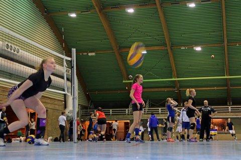 KOMMUNALE FORSKJELLER: Jentene til BK Tromsøs U15 og U17-lag trener i Tromsøhallen, som er en av flere kommunale idrettsanlegg som er i særdeles sliten forfatning. Åtte prosent av kommunebudsjettet i Reykjavik går til idrett, mens 1,4 prosent av Tromsøs kommunebudsjett går til idrettsformål.