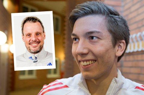 Landslagssjef Alexander Stöckl (innfelt) sier til Nordlys at noe veldig spesielt må skje dersom Johann André Forfang ikke skal bli en del av det norske laget til den tysk-østerrikske hoppuka.