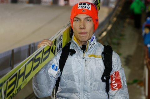 Johann André Forfang forteller til Nordlys etter tredjeplassen og bakkerekorden i Russland søndag at han før rennet, under visualiseringen, sa til seg selv at han kom til å sette bakkerekord.