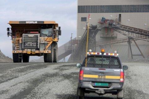 KONKURS: 370 ansatte mistet jobben da gruveselskapet gikk konkurs i midten av november i år.