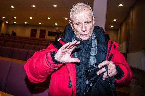 ADVARER: Waling T. Gorter, som er fastboende forsker, men som også har bodd i perioder på Svalbard helt siden 1976, sier han tror evakueringen kan bli langvarig for mange.