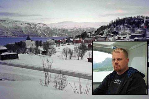 Odd Steinar Høyvik vurderer å flytte tilbake til Lyngen. Foto. Privat