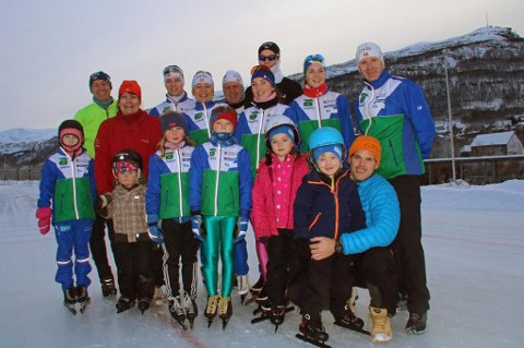 UTEN ANLEGG: Tromsø Skøyteklubbs medlemmer har ingen kunstisbane å trene på fremover. Banen er stengt av Tromsø Kommune med umiddelbar virkning.
