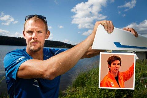 Trine Lise Andersen (innfelt) i Olympiatoppen Nord-Norge sier seg i stor grad enig med OL-vinner Olaf Tufte, som overfor VG har tatt til orde for at unge utøvere er bortskjemte og får sydd silkeputer under armene.