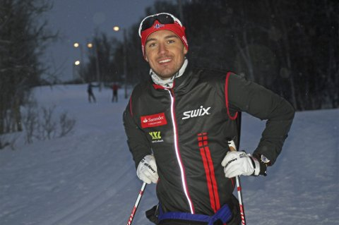 SLITSOM OPPKJØRING: Andreas Nygaard har «pigget» avstanden fra Tromsø til Istanbul i løpet av de siste syv månedene.