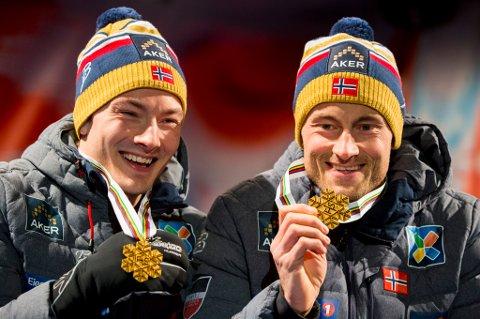 Finn-Hågen Krogh kan glise litt bredere enn Petter Northug jr. når man summerer opp premiepengene løperne har hentet inn i løpet av sesongen.