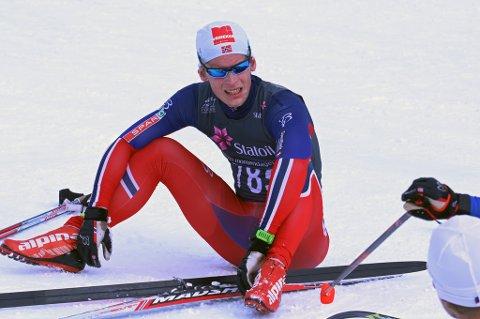 GOD NM-PLASSERING: Rolf Einar Jensen ble nummer 15 på ti kilometer klassisk i NM del 2 i Harstad fredag.