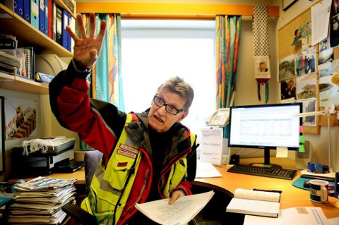 Klinikkoverlege Mads Gilbert, får kritikk. Foto: Yngve Olsen Sæbbe