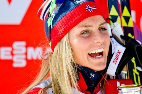 Therese Johaug går Svalbard Skimaraton. Foto: Scanpix