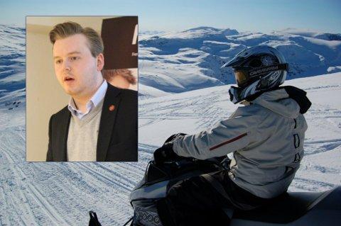 SKUTER-NEI: Frps sjettekandidat til fylkestinget i Troms, Kristian Eilertsen, tror Senterpartiet vingler i scootersaken nok en gang.
