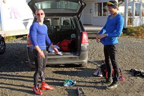 Det ser nå overveiende sannsynlig ut at Snorri Einarsson (t.v.) og Andreas Nygaard blir lagkamerater i langløpslaget Team Santander kommende sesong.