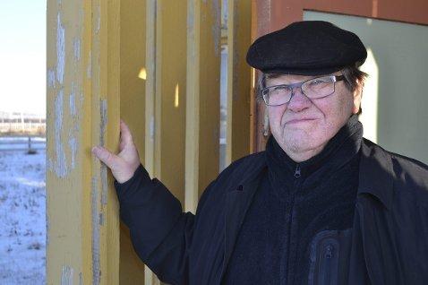 NOK ER NOK: Thor Robertsen og innbyggerne i Skallelv har vært uten mobildekning i 10 dager.