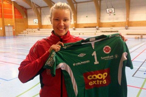 Mari Sørholt er klar som ny keeper for Bravo HK. 24-åringen har erfaring fra landets to øverste divisjoner.