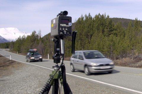 FLERE TATT: Covid-19 har ført til at UP gjør flere fartskontroller og færre ruskontroller.