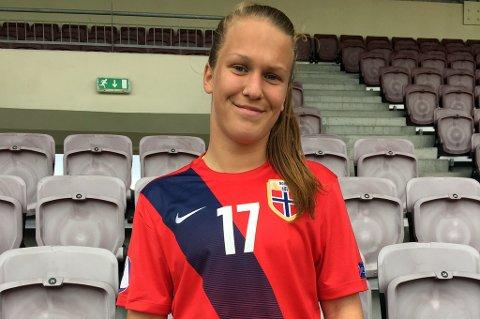 Synnøve Rønquist Hafnor drar fra Fløya til Grand Bodø i sommer.