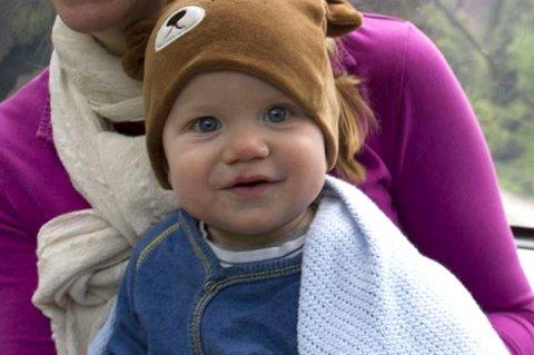 SYK: Lille Markus (1) hadde store magesmerter, men på legekontoret var det ingen som visste hvor legen var. Foto: Privat.