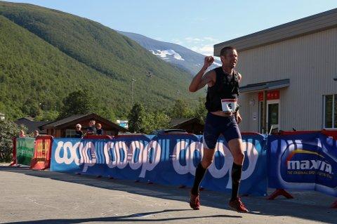 VANT SUVERENT: Emil Wingstedt vant Tromsø Ultra lørdag.