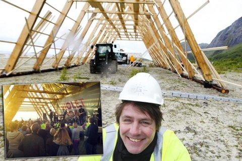 Rakettnatt-gründer Erland Mogård-Larsen er også mannen bak Salt. Men nå er planene for å flytte Salt til Tromsø lagt på is. Foto: Avisa Nordland.