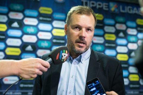 Vålerenga-trener Kjetil Rekdal etter 1-0-seieren over TIL. Rekdal sier til Nordlys at han hadde trodd de skulle få mer ut av Ruben Kristiansen enn det de har gjort.