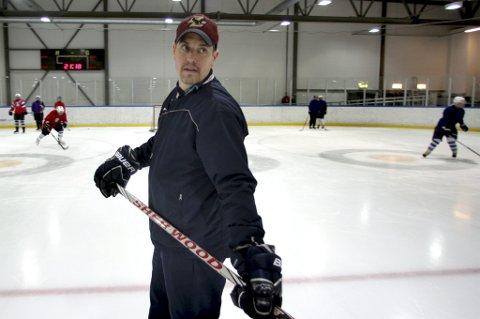 NY JOBB: Chris Steele er ansatt som trener i Tromsø Hockey.