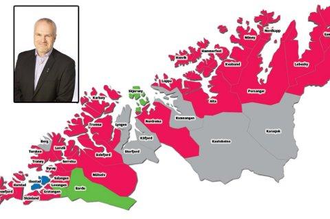 - Jeg skal skynde meg å kontakte rikskonservatoren. Høyre-ordførere må bli en beskyttet art, sier Ibestad-ordfører Dag Sigurd Brustind.