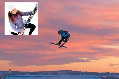 LANDSLAGSKLAR: Marina Johansen (19) fra Tromsø er klar for juniorlandslaget i freeski.
