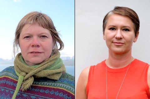 SINT OG SKUFFET: Ingeborg Larsen og Olga Goldfain hadde begge et barn på Utøya da terroren rammet 22. juli 2011. De er sint og skuffet over at ungdommene som var fra Karasjok kommune ikke føler de har fått den oppfølgningen de har hatt behov for, selv om kommunen fikk 2,5 millioner kroner fra staten for å sikre dette. Foto: Privat.