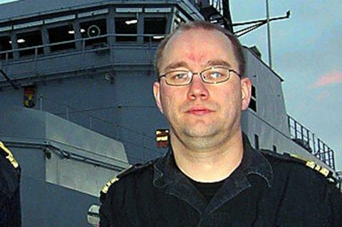 Torbjørn Bongo, nestleder i Norges Offisersforbund.
