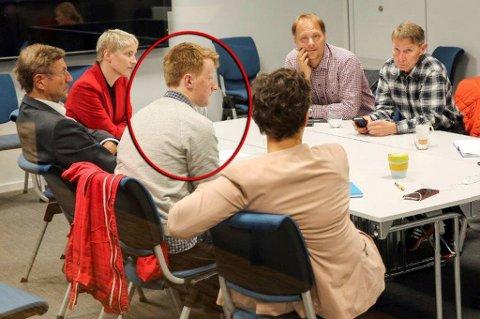 FØRSTE MØTE: Valgvinnerne fra Arbeiderpartiet, SV og Rødt møttes første gang sist onsdag, mens de reelle forhandlingene starter mandag ettermiddag. Foto: Yngve Olsen Sæbbe