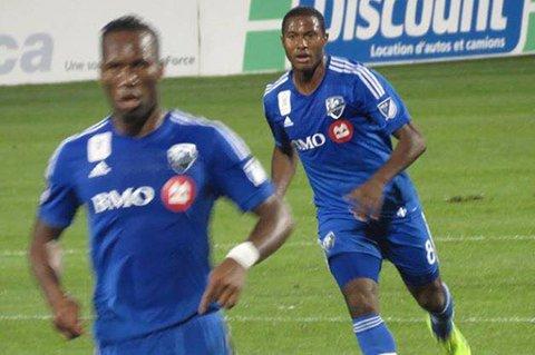 Patrice Bernier er fortsatt aktiv på høyt nivå. Han spiller for Montreal Impact i hjembyen i Major League Soccer, sammen med blant andre Didier Drogba (t.v.).
