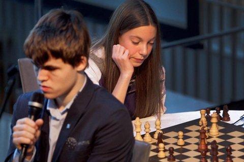 STERK EM-PRESTASJON: Monika Machlik ble nummer åtte i U18-EM i sjakk.