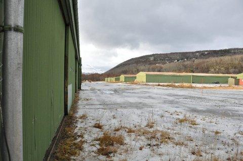 ARENA ELVENES: I dette området blir det mest sannsynlig etablert dragracebane iløpet av det kommende året.