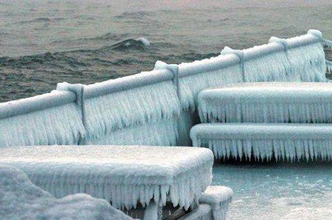 KALDT: Det har vært svært kaldt den siste tiden.  Illustrasjonsfoto: Finn Hansen.