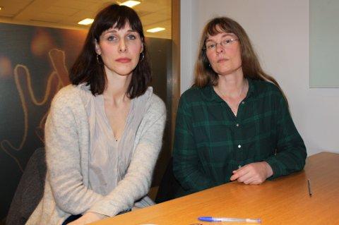 SLÅR ALARM: Ingrid Stensen (til venstre) og Hanne Stenvaag i Støttegruppa for asylsøkere frykter det verste for syreren som torsdag morgen ble pågrepet i Tromsø og sendt til Kirkenes for videre utsending til Russland. - De fratar folk enhver rettssikkerhet, mener de.