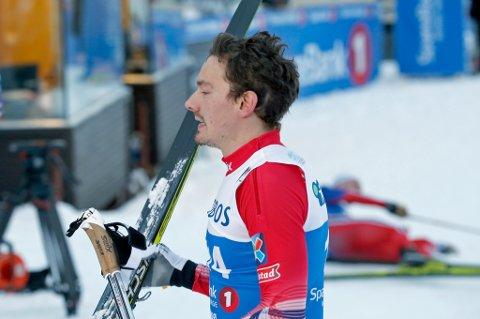 SPRINTHÅP: Finn Hågen Krogh jakter NM-medalje på sprinten.