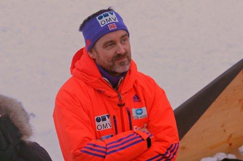 Sportssjef Clas Brede Bråthen under hoppuka.