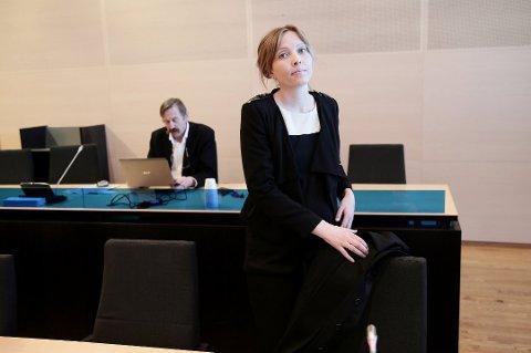 AKTOR: Politiadvokat Henriette Birkelund var aktor i straffesaken mot 28-åringen. I romjulen ble mannen dømt til fengsel i to år for familievold. Her er Birkelund avbildet i forbindelse med en annen sak.