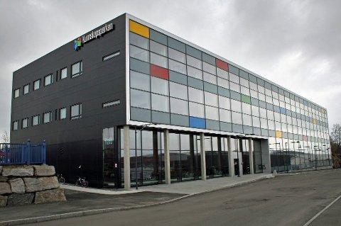 KUNNSKAPSPARKEN: Bygget sto ferdig juni 2013 og ligger nedenfor rundkjøringa - mellom Amfisenteret og Lundkaia. Alle foto: Torgeir Bråthen