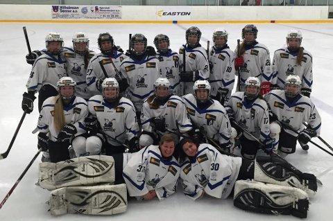 TØFF START: Tromsø Hockeys eliteserielag tapte 1-14 i debuten på øverste nivå.