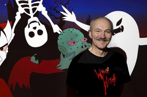 Rune Blix, historiker og forsker ved UiT avlyser nester års halloween. Foto: UiT