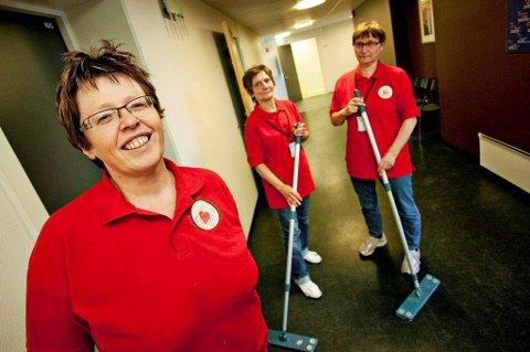 LAVT FRAVÆR: Trude Wester gleder seg over at de ansatte i Privat Omsorg Nord har minimalt sykefravær. Arkivfoto: Vidar Dons Lindrupen